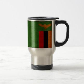 ザンビアの旗 トラベルマグ
