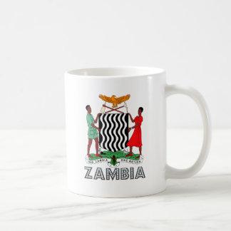 ザンビアの紋章付き外衣 コーヒーマグカップ