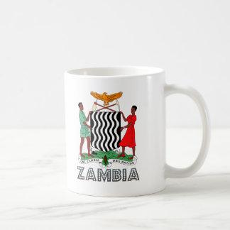 ザンビアの紋章 コーヒーマグカップ
