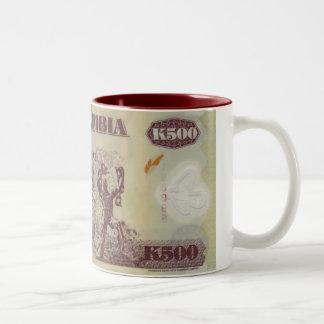 ザンビアの銀行券 ツートーンマグカップ