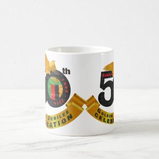ザンビア第50の金記念祭のマグ コーヒーマグカップ