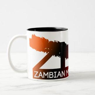 ザンビア音楽はマグを図表にします ツートーンマグカップ