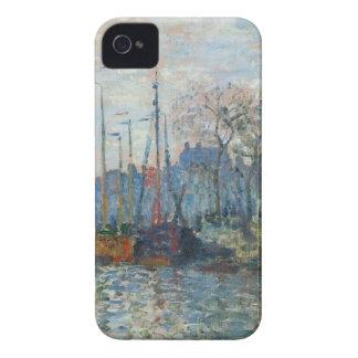 ザーンダムのクロード・モネ著堤防 Case-Mate iPhone 4 ケース