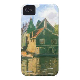 ザーンダムのクロード・モネ著運河 Case-Mate iPhone 4 ケース