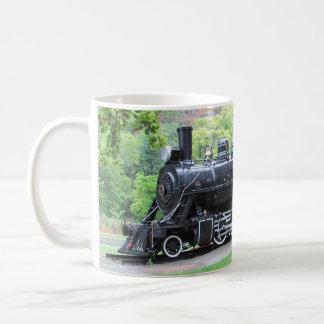 シアトルからの退職したな列車エンジン コーヒーマグカップ
