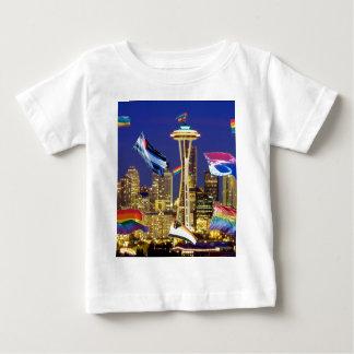 シアトルのプライド ベビーTシャツ