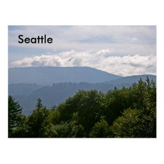 シアトルの山 ポストカード