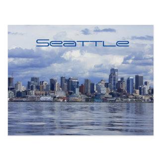 シアトルの空ライン ポストカード