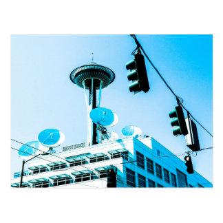 シアトルの青 ポストカード