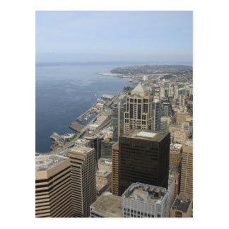 シアトルのArialの眺め ポストカード