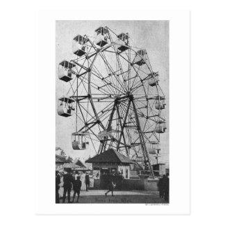 シアトルのWashingtonYukon太平洋の博覧会Ferris ポストカード