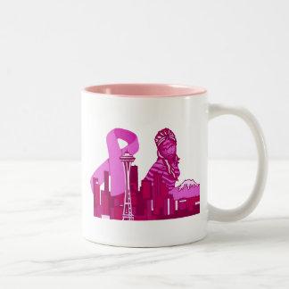 シアトルサポートマグ ツートーンマグカップ