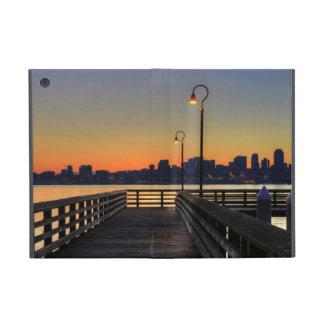 シアトルワシントン州の都心のスカイライン iPad MINI ケース