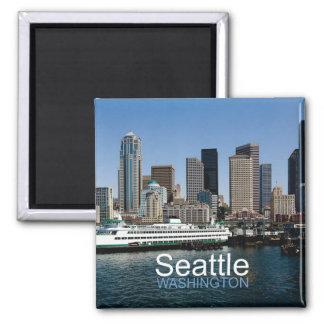 シアトルワシントン州旅行写真の記念品の磁石 マグネット