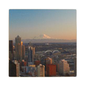 シアトル都市スカイライン2の空中写真 ウッドコースター