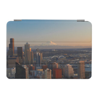 シアトル都市スカイライン2の空中写真 iPad MINIカバー