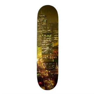 シアトル都市眺め 20.6CM スケートボードデッキ