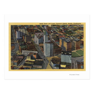 シアトル、ワシントン州-スミスのアンテナ ポストカード