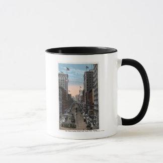 シアトル、ワシントン州-第2の北の眺め マグカップ