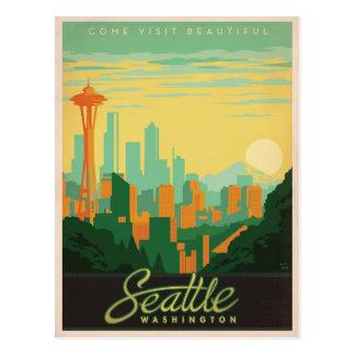 シアトル、WA ポストカード