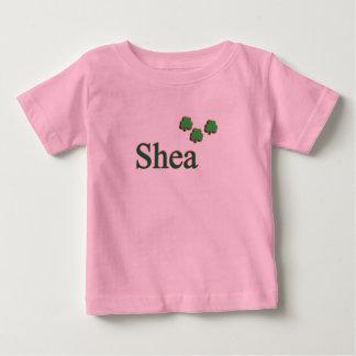 シアバター家族のベビーのTシャツ ベビーTシャツ
