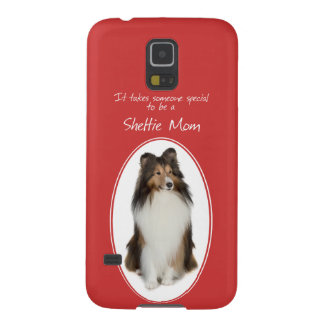 シェットランド・シープドッグのお母さんのSmartPhoneの例 Galaxy S5 ケース