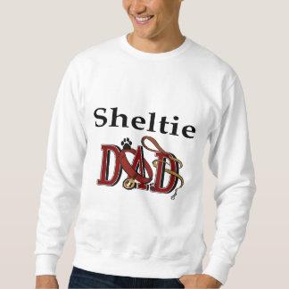 シェットランド・シープドッグのパパのギフト スウェットシャツ