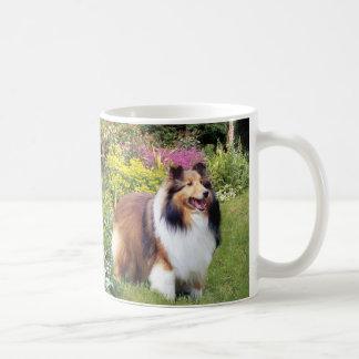 シェットランド・シープドッグのマグ コーヒーマグカップ