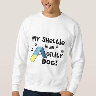 シェットランド・シープドッグの敏捷犬のスエットシャツ スウェットシャツ