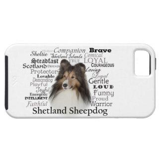 シェットランド・シープドッグの特性のSmartphoneの場合 iPhone SE/5/5s ケース