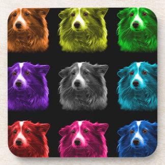 シェットランド・シープドッグ犬のポップアート9973のbb コースター