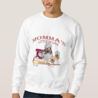 シェットランド・シープドッグMOMMAの助手の服装 スウェットシャツ