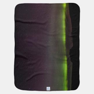 シェトランド諸島のオーロラのBorealisの折畳み式ベッド毛布 ベビー ブランケット