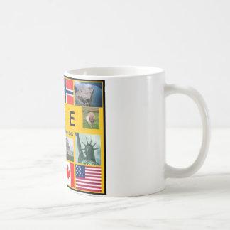 シェトランド諸島の旗のマグ コーヒーマグカップ
