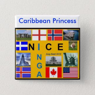 シェトランド諸島の旗ボタン 缶バッジ