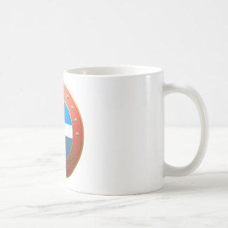 シェトランド諸島の盾 コーヒーマグカップ