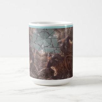 シェトランド諸島の魔法のコーヒー・マグ コーヒーマグカップ