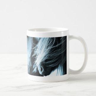 シェトランド諸島子馬のロバのマグ コーヒーマグカップ