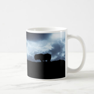 シェトランド諸島子馬の気分のマグ コーヒーマグカップ