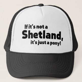 シェトランド諸島子馬 キャップ
