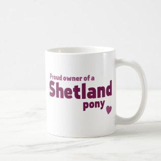 シェトランド諸島子馬 コーヒーマグカップ