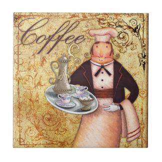 シェフのコーヒー タイル