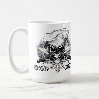 シェフのスカル1 コーヒーマグカップ