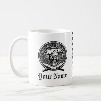 シェフのスカル3.1 コーヒーマグカップ
