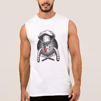 シェフのスカル: ピクニック 袖なしシャツ