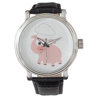シェフのブタ 腕時計