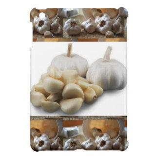 シェフの健康な食べ物の料理の芸術のニンニク乾燥 iPad MINIケース
