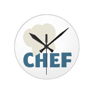 シェフの台所時計 ラウンド壁時計