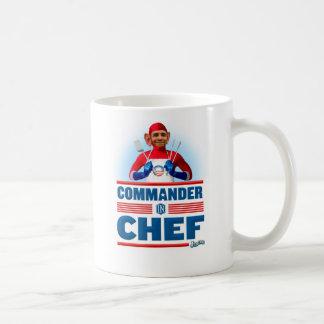 シェフの司令官 コーヒーマグカップ