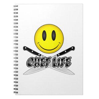 シェフの生命: シェフのスマイリー ノートブック